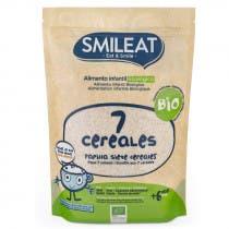 Papilla 7 Cereales BIO Smileat 200 Gramos