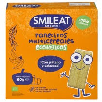 Panecitos Multicereales Ecologicos Smileat 60Gr