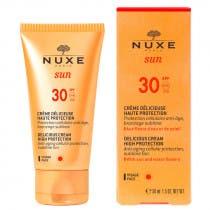 Nuxe Sun Crema Facial Deliciosa Alta Proteccion SPF30 50ml