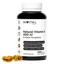 Hivital Vitamina E Natural 400 UI 200 Perlas