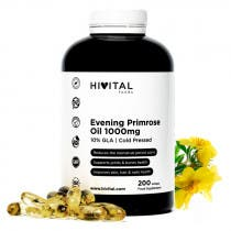 Hivital Aceite de Onagra 1000mg con 10 Omega 6 GLA 200 Perlas