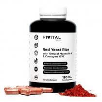 Hivital Levadura de Arroz Rojo180 Capsulas