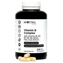 Hivital Vitamina B Complex 210 Capsulas Veganas