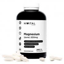 Hivital Magnesio Puro 200mg 240 Comprimidos