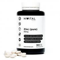 Hivital Zinc Puro 40mg 365 Comprimidos