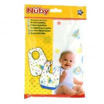 Nuby Baberos Desechables 10 Unidades
