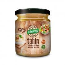 Tahin Crema de Sesamo Integral Tostado Biocop 225Gr
