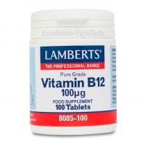 Lamberts Vitamina B12 100g 100 Comprimidos