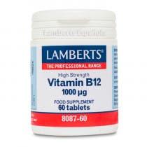 Lamberts Vitamina B12 1000g 60 Comprimidos