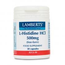 Lamberts L-Histidina HCI 500mg 30 Comprimidos