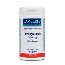 Lamberts L-Fenilalanina 500mg 60 Comprimidos
