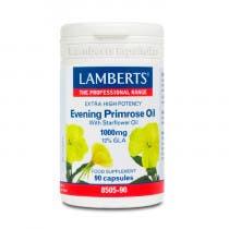 Lamberts Aceite de Primula Extra Alta Potencia con Borraja 1000mg 90 Comprimidos