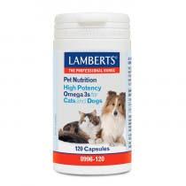 Lamberts Pet Nutrition Omega 3 120 Comprimidos