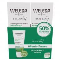 Gel Dentifrico Vegetal Weleda 75ml DUPLO