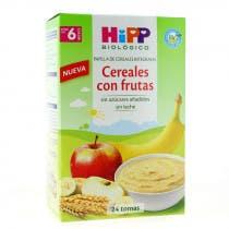 Papilla Cereales y Frutas HIPP Biologico  6m 600gr