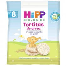 Tortitas de Arroz HIPP Biologico  8m 30gr