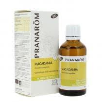Aceite Vegetal Macadamia BIO Pranarom 50 ml.