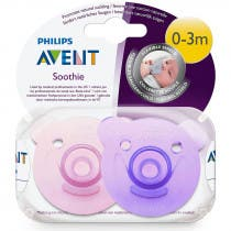 Avent Chupetes Soothie 0 3m Rosa 2 Unidades