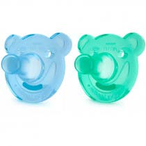 Avent Soothies 3m 2 Unidades Azul y Verde