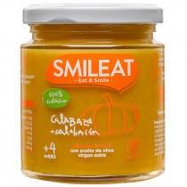 Smileat Tarrito de Calabaza y Calabacin 100 Ecologico 230g