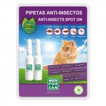Pipeta Anti Insectos para Gatos Menforsan 2Uds