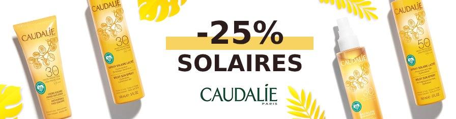 -25% Solaires Caudalie