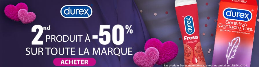 -50% DUREX