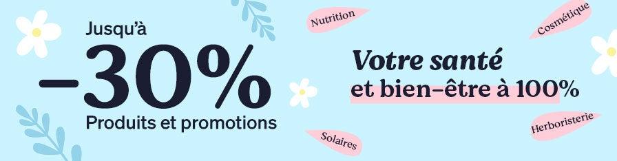 -30% SUR DES MILLIERS DE PRODUITS !
