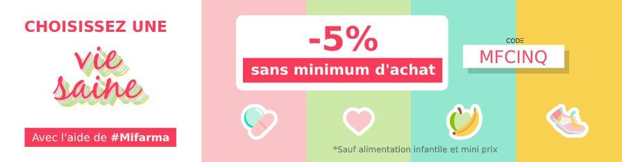 -5% SUR VOTRE COMMANDE