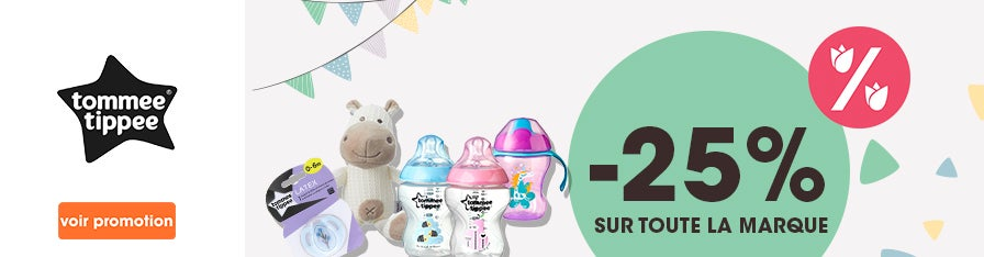 -25% TOMMEE TIPPEE