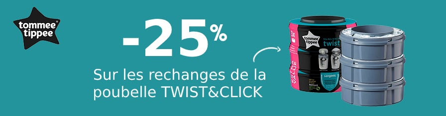 -25% Recharges Poubelles Tommee Tippee